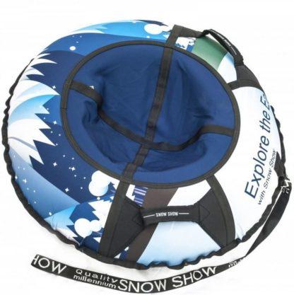 Тюбинг Snow Show Design Standard Зимняя сказка 105 см - 1