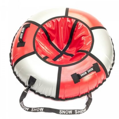 Тюбинг Snow Show Practic Красно-серебристый 120 см - 1