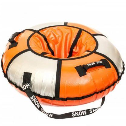 Тюбинг Snow Show Practic Оранжево-серебристый 120 см - 3