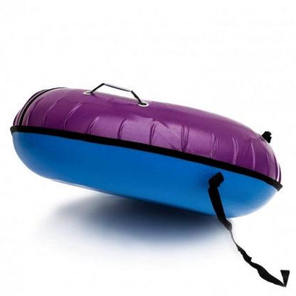 Тюбинг Snow Show Profi с пластиковым дном Фиолетовый 110 см - 1