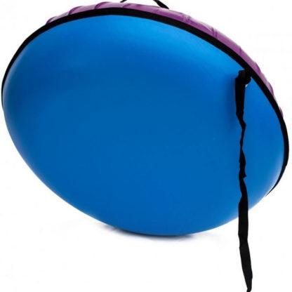 Тюбинг Snow Show Profi с пластиковым дном Фиолетовый 110 см - 4
