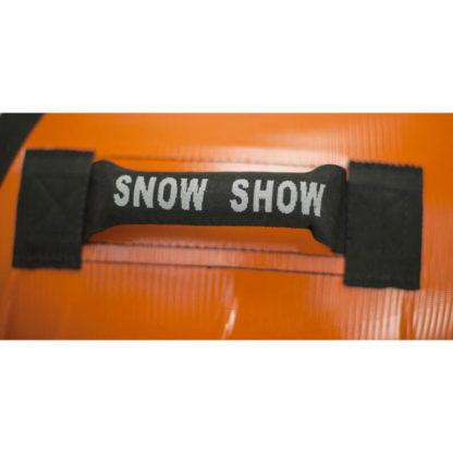 Тюбинг Snow Show Profi с пластиковым дном Оранжевый 110 см - 6