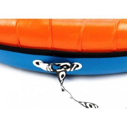 Тюбинг Snow Show Profi с пластиковым дном Оранжевый 110 см - 8