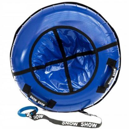 Тюбинг Snow Show Profi с пластиковым дном Синий 110 см - 1