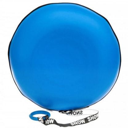 Тюбинг Snow Show Profi с пластиковым дном Синий 110 см - 2