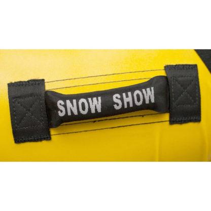 Тюбинг Snow Show Profi с пластиковым дном Жёлтый 110 см - 7