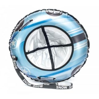 Тюбинг Snow Show Snow Cars Круглый Blue Star 105 см - 1