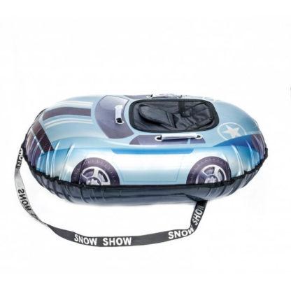 Тюбинг Snow Show Snow Cars Овальный Blue Star 120 см - 1