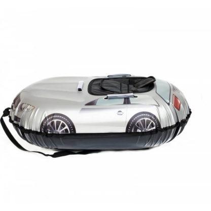 Тюбинг Snow Show Snow Cars Овальный BMW Silver 120 см - 1