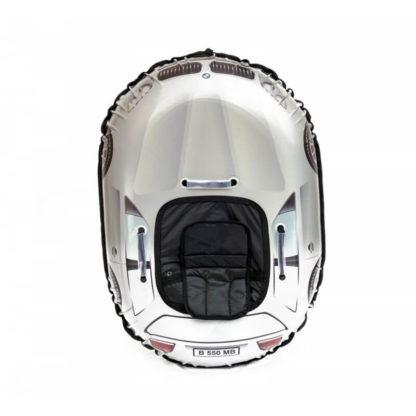 Тюбинг Snow Show Snow Cars Овальный BMW Silver 120 см - 3