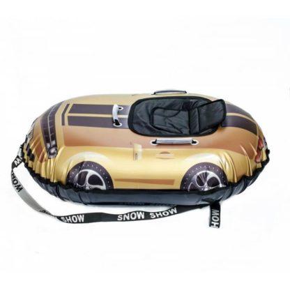 Тюбинг Snow Show Snow Cars Овальный Camaro Gold 120 см - 1