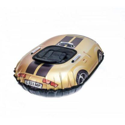 Тюбинг Snow Show Snow Cars Овальный Camaro Gold 120 см - 2