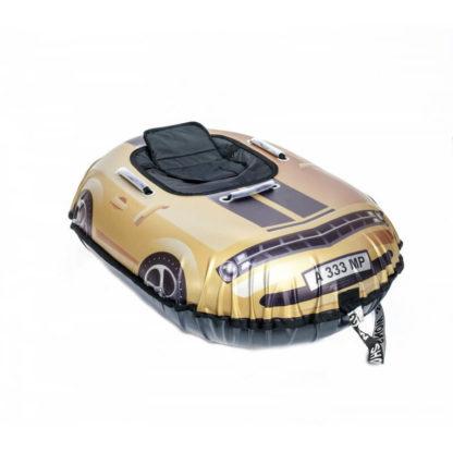 Тюбинг Snow Show Snow Cars Овальный Camaro Gold 120 см - 3