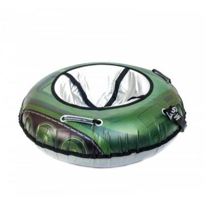 Тюбинг Snow Show Snow Cars Круглый Green Tank 105 см - 5