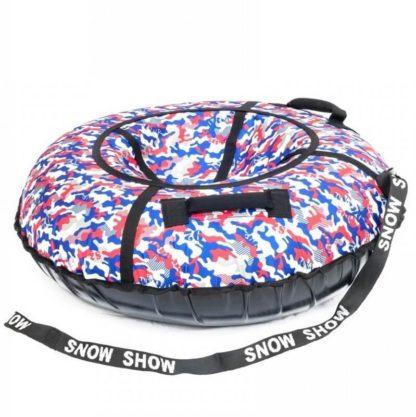 Тюбинг Snow Show Standard Сине-красный камуфляж 120 см - 2