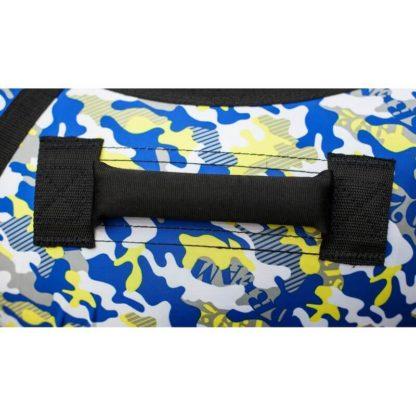 Тюбинг Snow Show Standard Сине-жёлтый камуфляж 120 см - 5