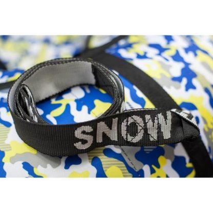 Тюбинг Snow Show Standard Сине-жёлтый камуфляж 120 см - 7