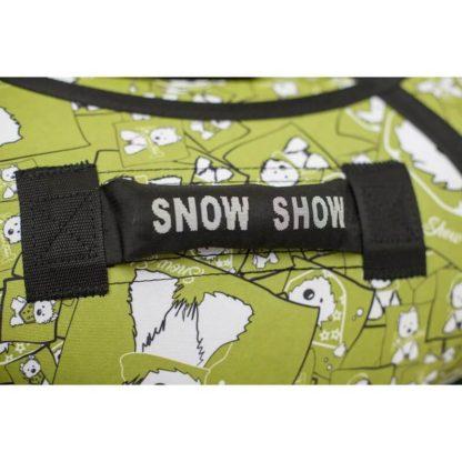 Тюбинг Snow Show Standard Собачки в зеленом 120 см - 5