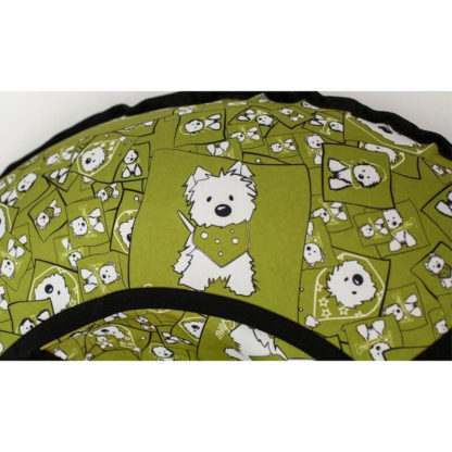 Тюбинг Snow Show Standard Собачки в зеленом 120 см - 6