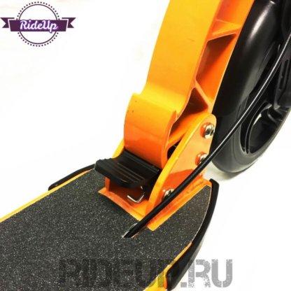 Самокат с ручным дисковым тормозом ATEOX GRAND LUX Оранжевый - 4