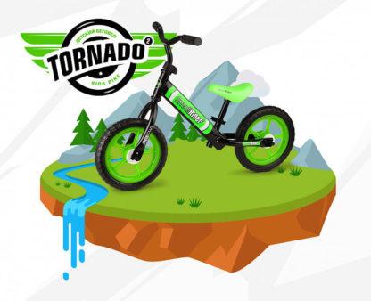 Беговел для детей от 2 лет Small Rider Tornado 2 Зелёный - 6