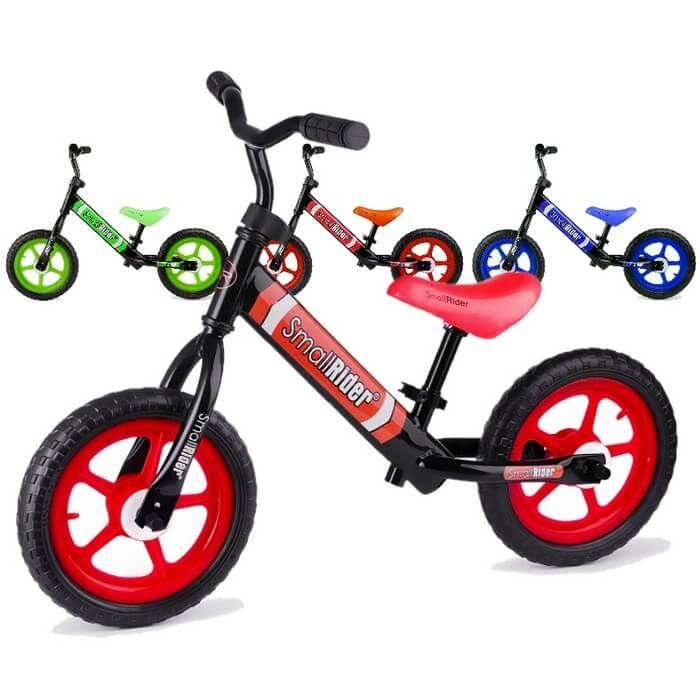 Беговел для детей от 2 лет Small Rider Tornado 2 Зелёный, Красный, Синий