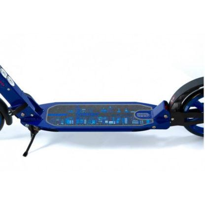 Городской двухколёсный самокат с двумя амортизаторами Micar Town Rider 200 мм Синий - 8