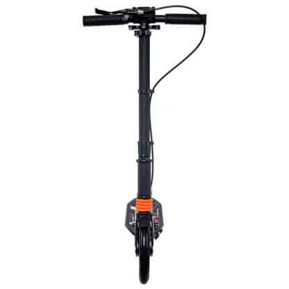 Городской самокат с ручным тормозом Urban Scooter Sport Чёрный - вид спереди
