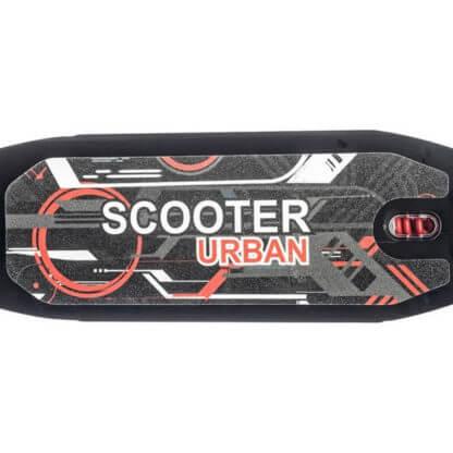 Городской самокат с ручным тормозом Urban Scooter Sport Чёрный - дека