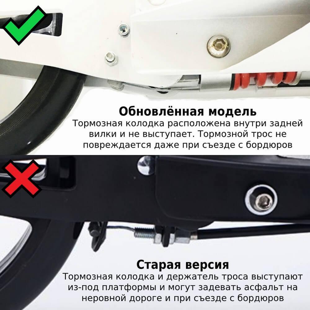 Городской самокат Urban Scooter Sport - обновлённая тормозная система