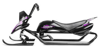 Снегокат Small Rider Scorpion Duo Фиолетовый - 4