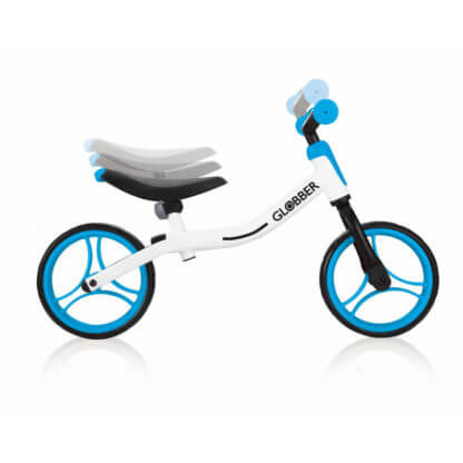 Беговел Globber Go Bike Бело-голубой - 2