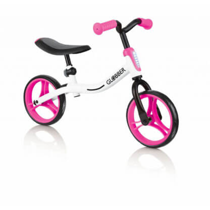 Беговел Globber Go Bike Бело-розовый - 1