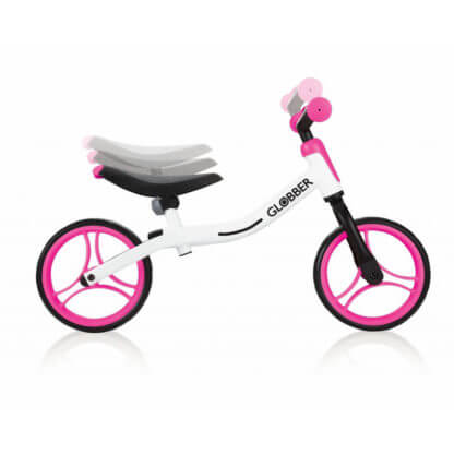 Беговел Globber Go Bike Бело-розовый - 2