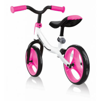Беговел Globber Go Bike Бело-розовый - 3