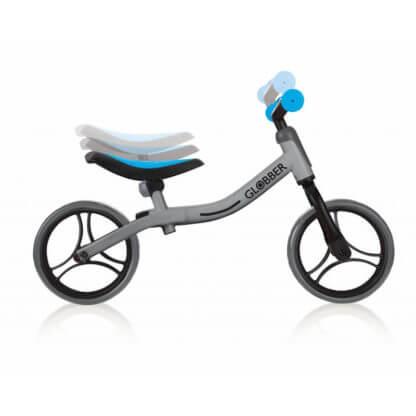 Беговел Globber Go Bike Серо-голубой - 2