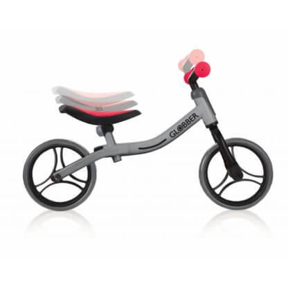 Беговел Globber Go Bike Серо-красный - 2