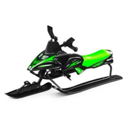 Снегокат-снегоход Small Rider Scorpion Solo Зелёный - 1