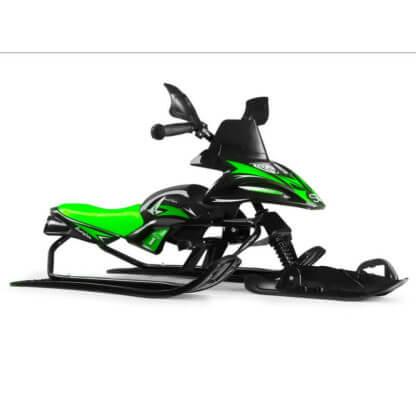 Снегокат-снегоход Small Rider Scorpion Solo Зелёный - 4