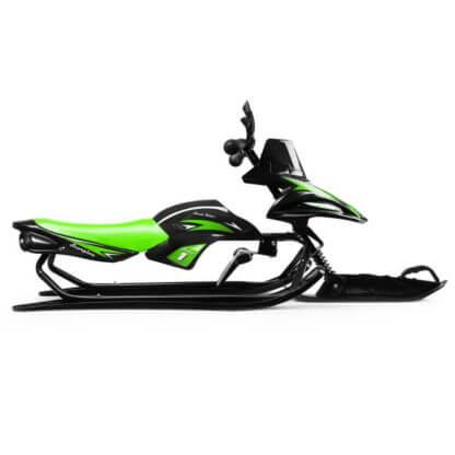 Снегокат-снегоход Small Rider Scorpion Solo Зелёный - 5