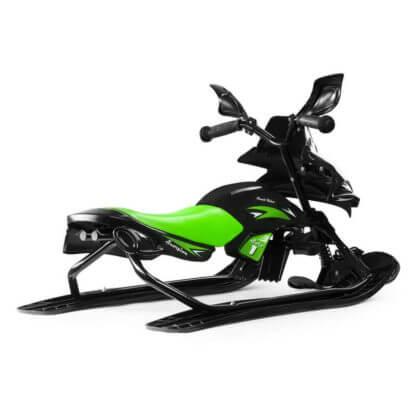 Снегокат-снегоход Small Rider Scorpion Solo Зелёный - 6