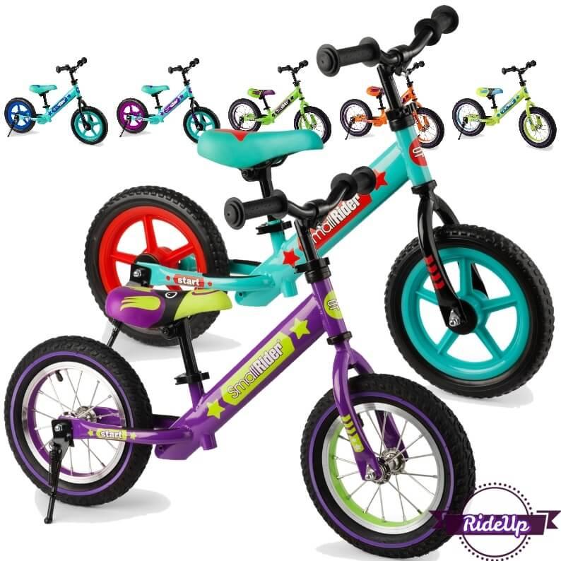 Беговелы Small Rider Drive 2 AIR с надувными колёсами и Small Rider Drive 2 EVA с ПВХ колёсами - все расцветки