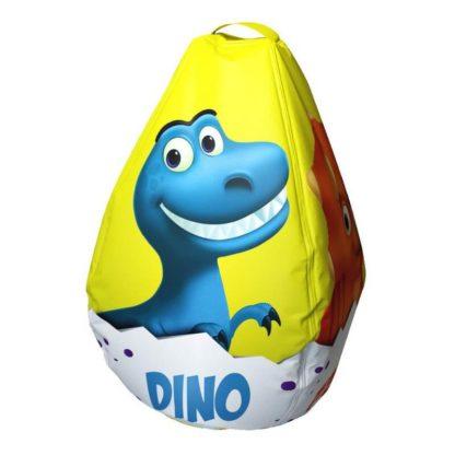 Мешок-рюкзак-подушка, спинка для тюбингов ST4, Small Rider Bags Динозаврики Жёлтый - 1