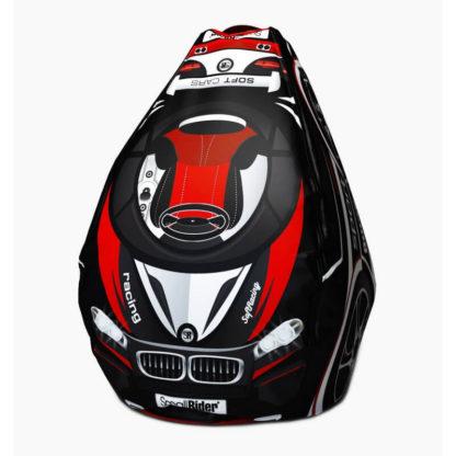 Мешок-рюкзак-подушка, спинка для тюбингов ST4, Small Rider Bags Машинки Красный - 1