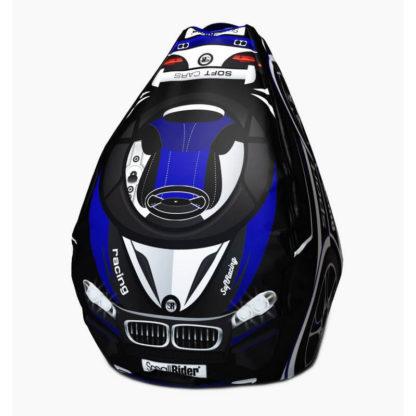 Мешок-рюкзак-подушка, спинка для тюбингов ST4, Small Rider Bags Машинки Синий - 1