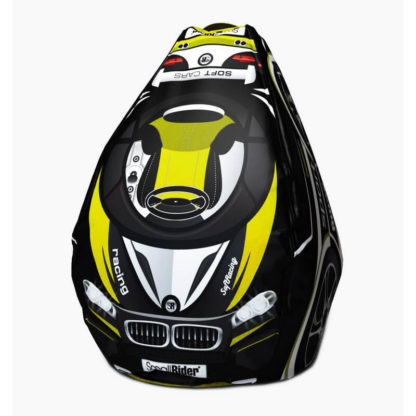 Мешок-рюкзак-подушка, спинка для тюбингов ST4, Small Rider Bags Машинки Жёлтый - 1
