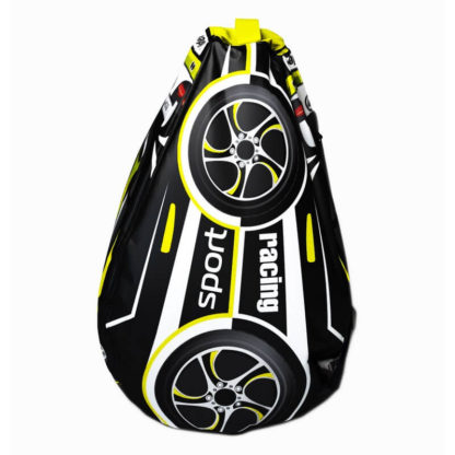 Мешок-рюкзак-подушка, спинка для тюбингов ST4, Small Rider Bags Машинки Жёлтый - 2