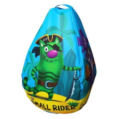 Мешок-рюкзак-подушка, спинка для тюбингов ST4, Small Rider Bags Пираты Голубой - 2