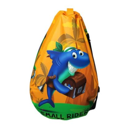 Мешок-рюкзак-подушка, спинка для тюбингов ST4, Small Rider Bags Пираты Оранжевый - 4