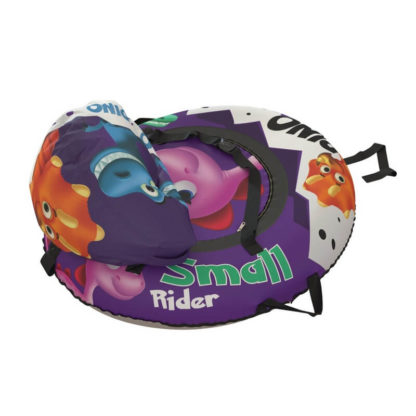 Тюбинг Small Rider Snow Tubes 4 Яйцо динозавра 110х95 см Фиолетовый - 6